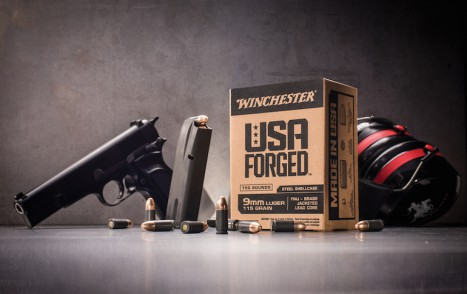 Winchester-Forged Steel shoot